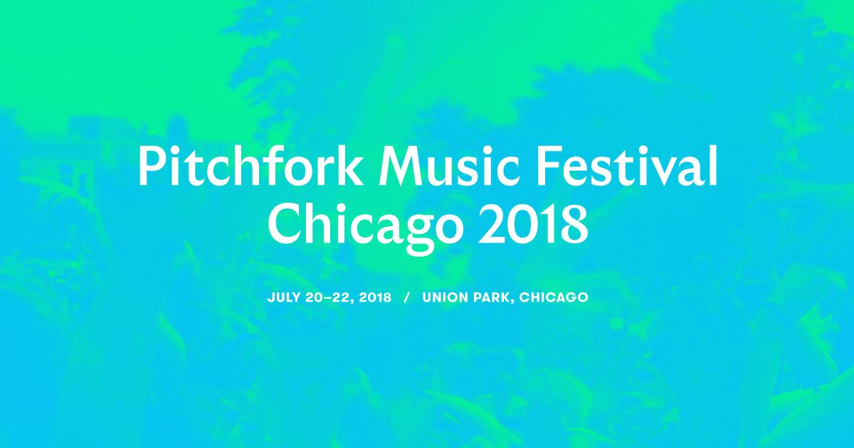 Image result for pitchfork music festival 2018